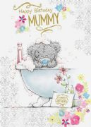 Me to You Mummy Bear In Bath Card